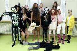 Halloweenská stezka odvahy na intru