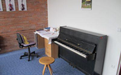 učebna klavíru